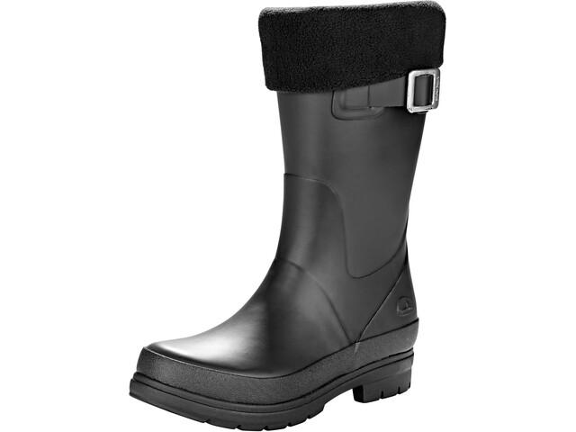 Viking Footwear Vendela Lapset Kumisaappaat Fleece-Lining , musta